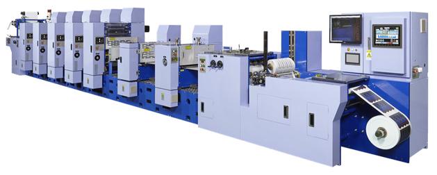 Miyakoshi semirotative offset presses