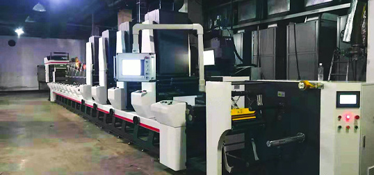 Osunflexo combination flexo/gravure presses