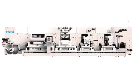 Vision label diecutters & digital finishing machines